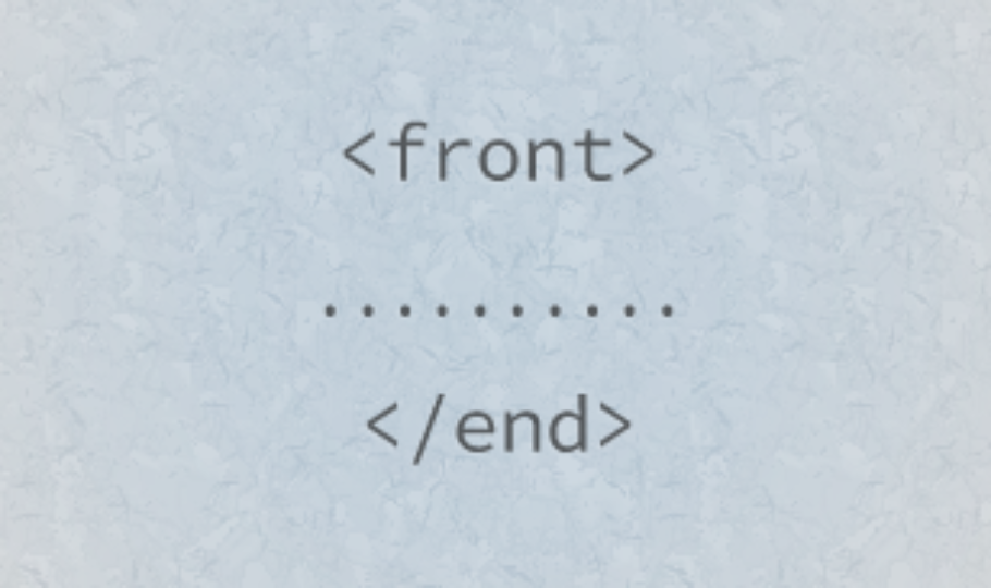 Things To Keep In Mind At The Front-End