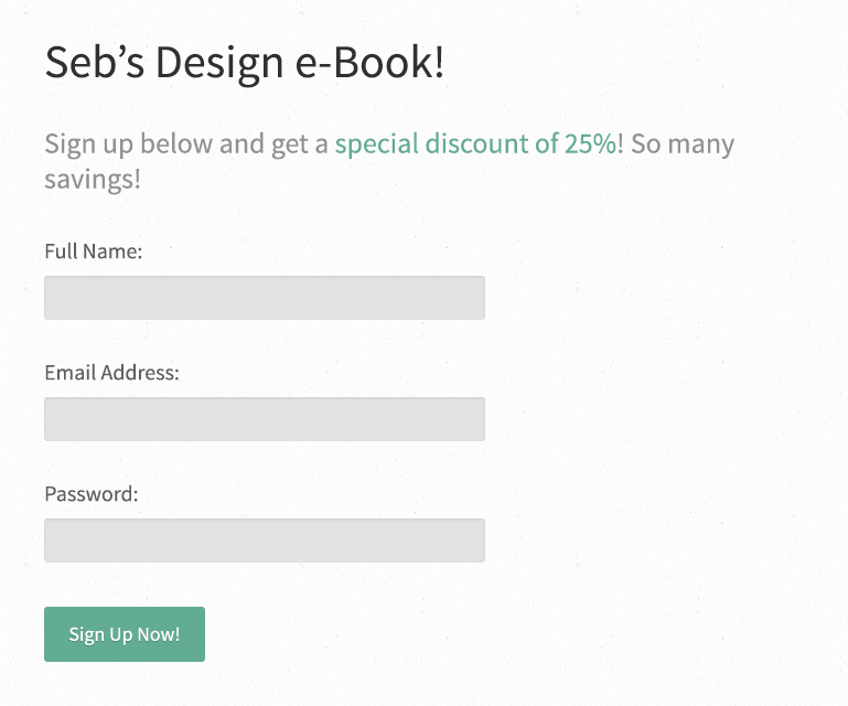 Short form that is good for form conversions