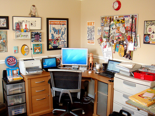 Rik Catlow's Workspace