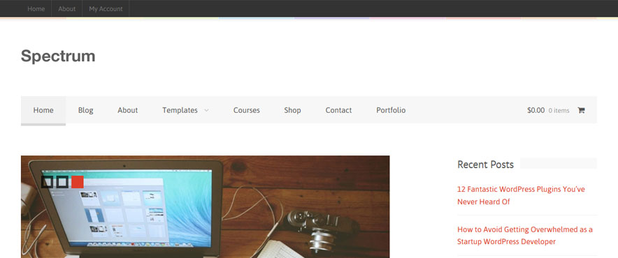 spectrum-wp-theme
