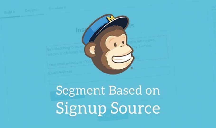 Segment by Signup Source with MailChimp