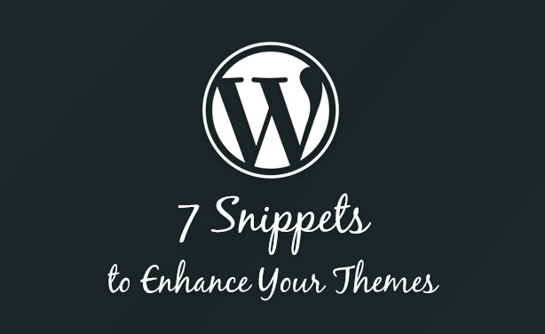 WordPress Snippets Post Thumbnail