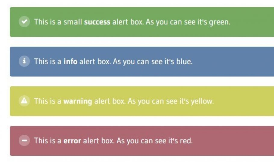 How to Create a Simple Alert with Sass
