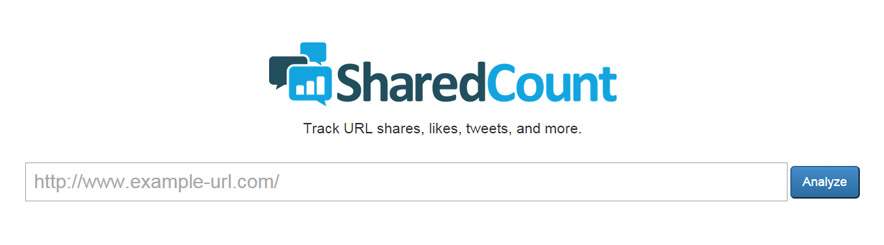 SharedCount screenshot