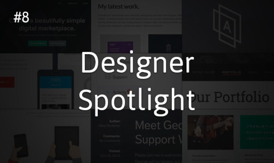 Designer Spotlight #8: Mike McAlister