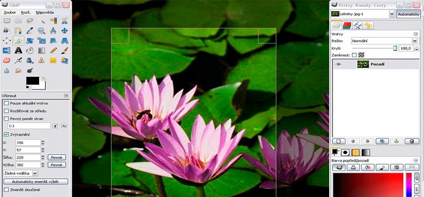 Make a website design with GIMP