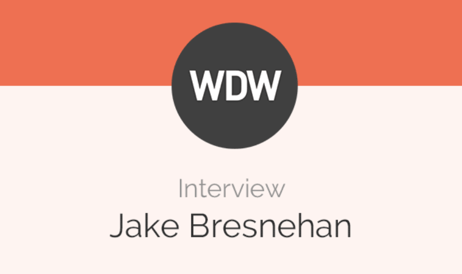 5 Questions with Jake Bresnehan of Web Design Weekly [Interview]