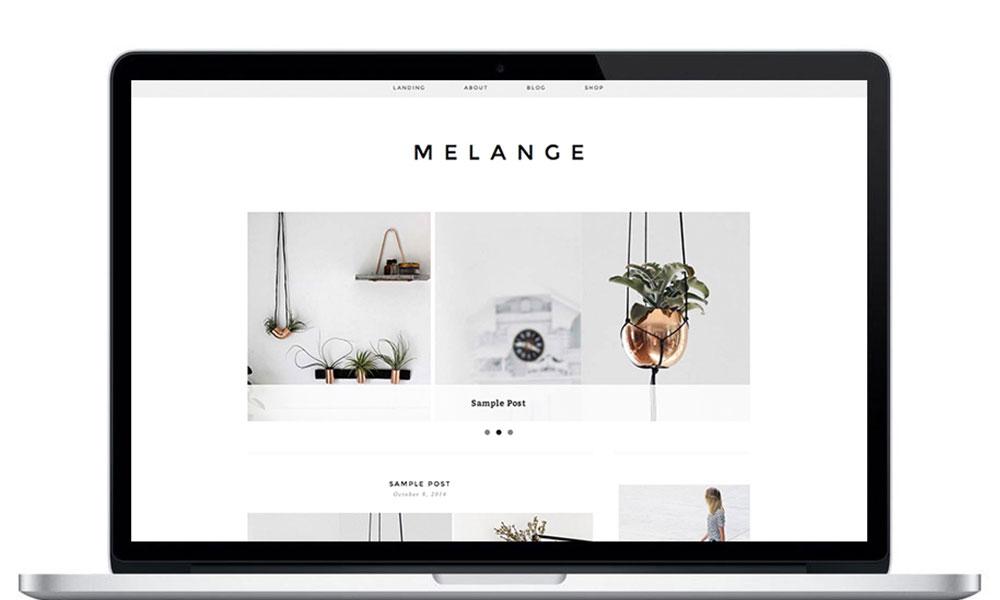 melange-wordpress-theme