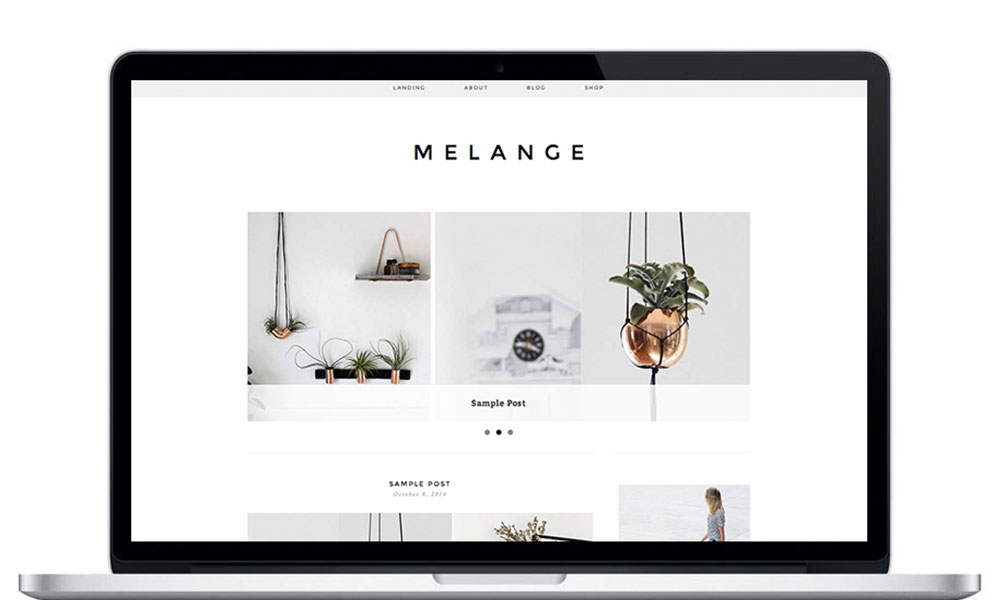 melange-wordpress-theme