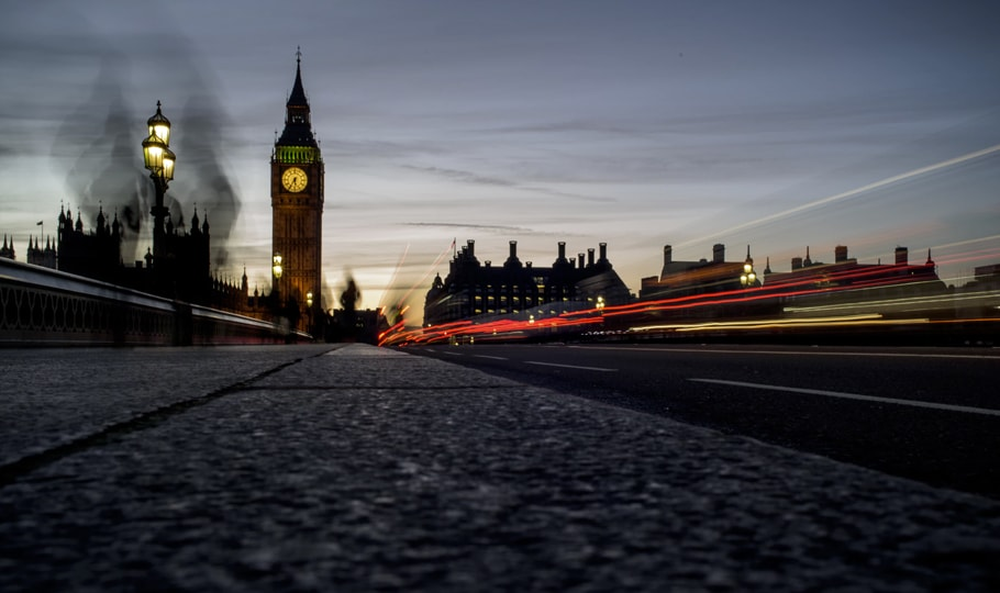 London and big ben at dusk wallpapers