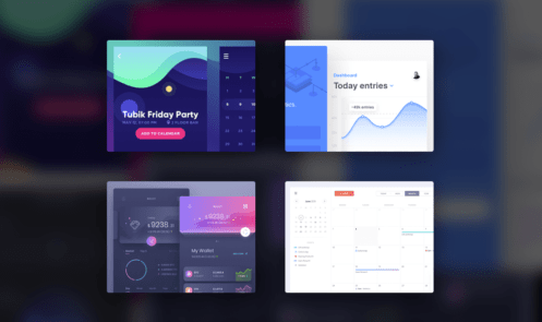 Dribbble Shots of The Week #2